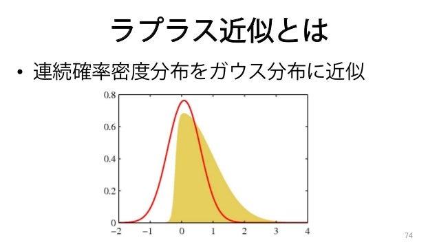 PRML勉強会@長岡 第4章線形識別モデル