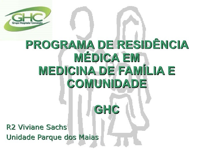 Encontro das Residências - PRM Grupo Hospitalar Conceição