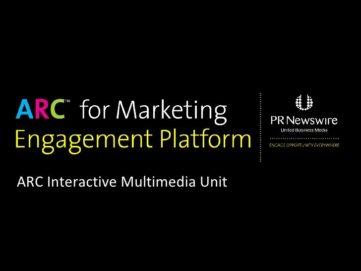 ARC Interactive Multimedia Unit