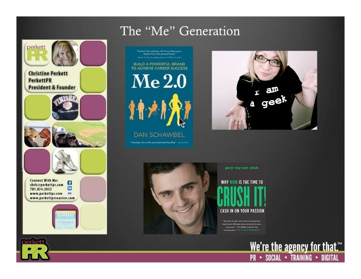 """The """"Me"""" Generation"""