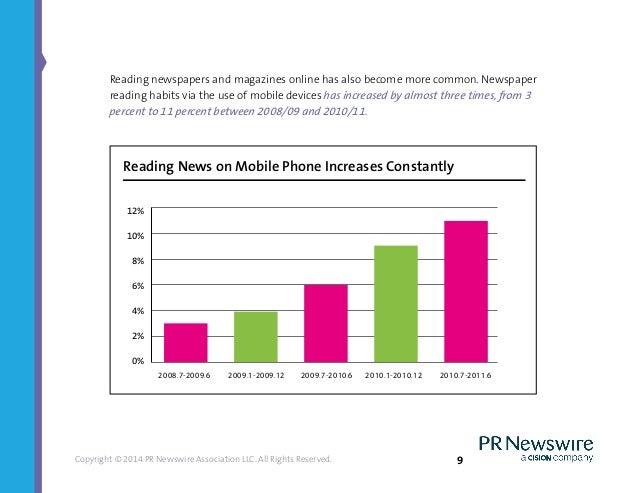 Newspaper reading habits revealed