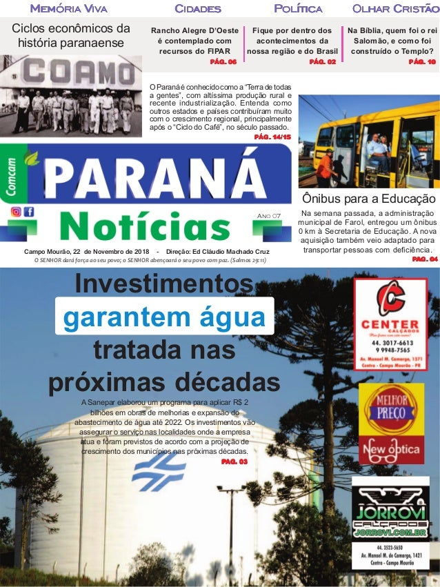 parananoticias.com.br Na semana passada, a administração municipal de Farol, entregou um ônibus 0 km à Secretaria de Educa...
