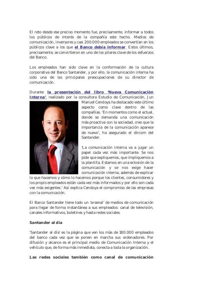 """Pr noticias 1 """"La nueva Comunicación Interna en la empresa"""" Slide 2"""