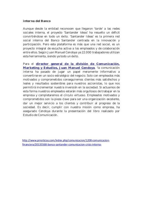 """Pr noticias 1 """"La nueva Comunicación Interna en la empresa"""" Slide 3"""