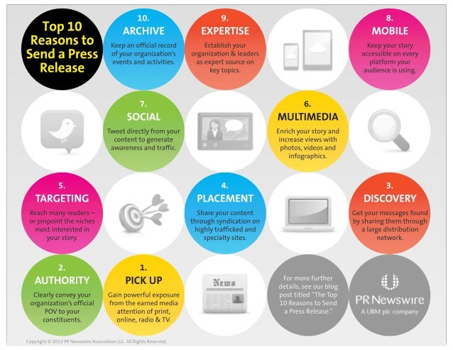 Top 10 Reasons to Send a Press Release