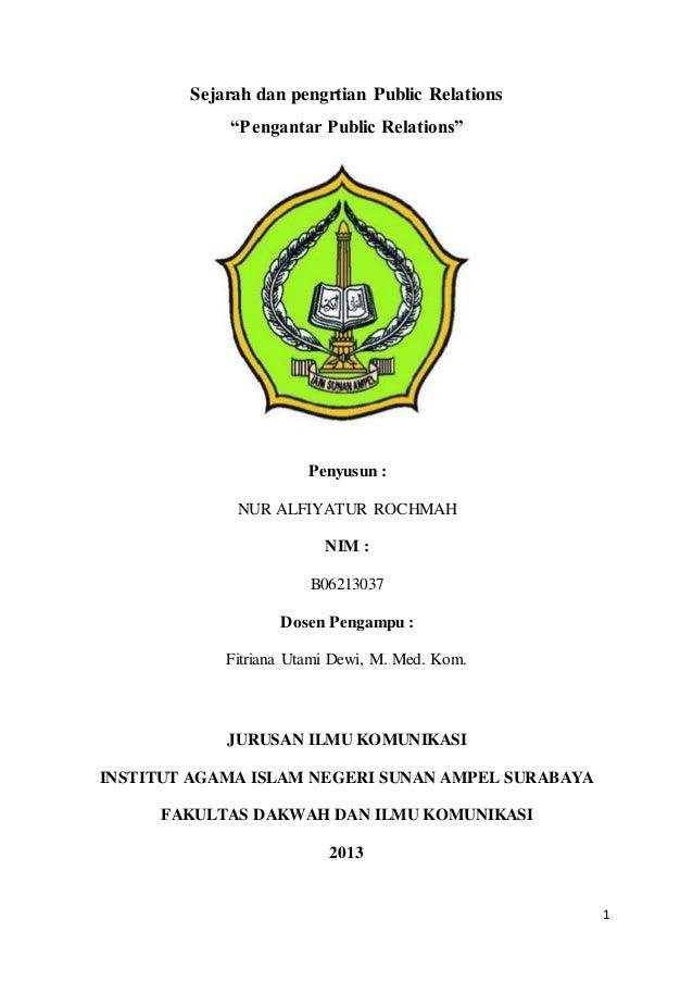 judul skripsi ilmu komunikasi public relations
