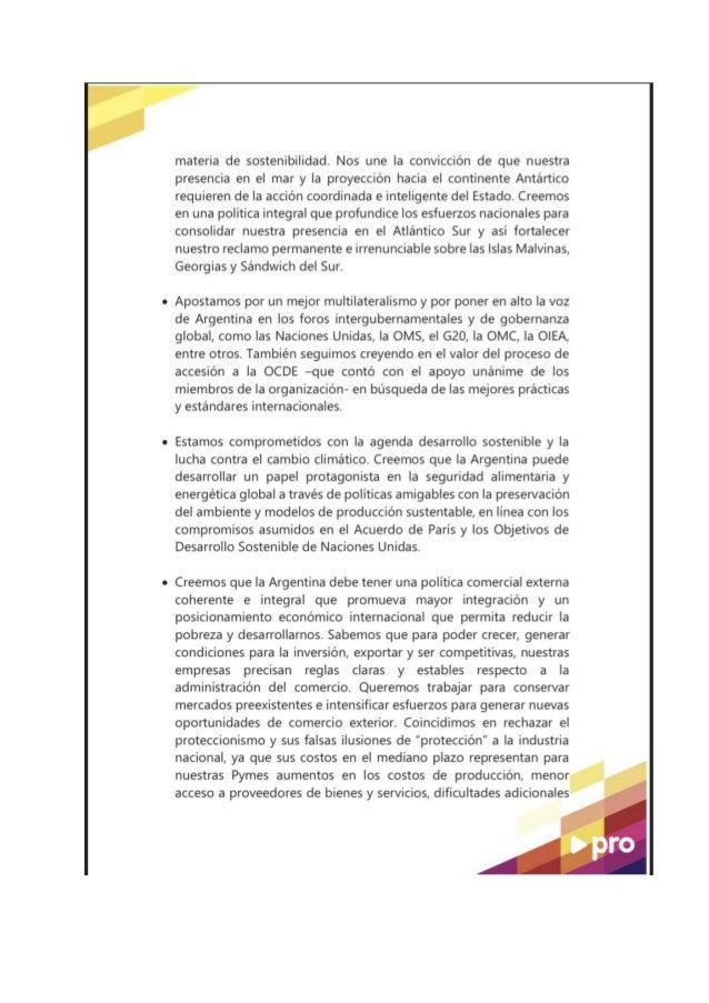 POR UNA ARGENTINA INTEGRADA AL MUNDO . Slide 2