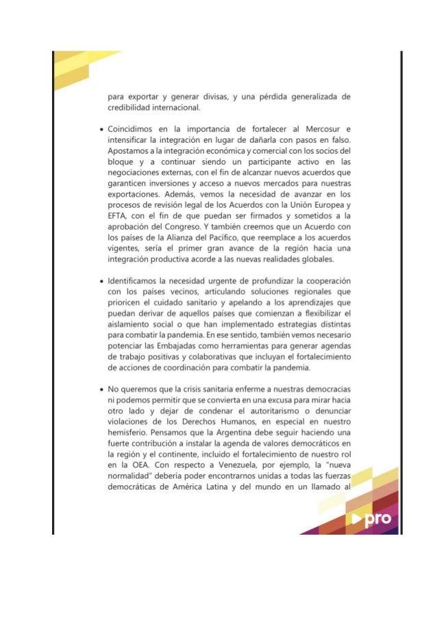 POR UNA ARGENTINA INTEGRADA AL MUNDO . Slide 3