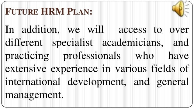 business plan for hr consulting firm