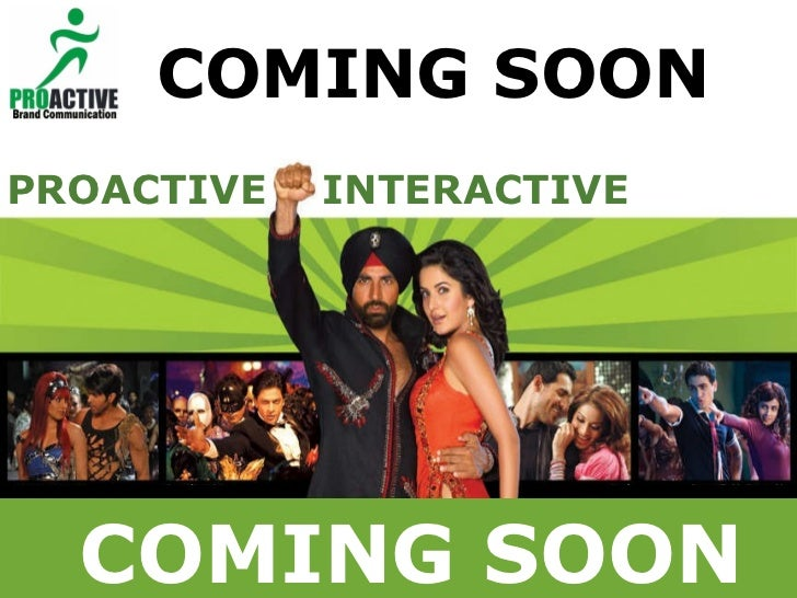 Best of Bollywood  Proposal for Airtel 2009 PROACTIVE  INTERACTIVE  COMING SOON COMING SOON