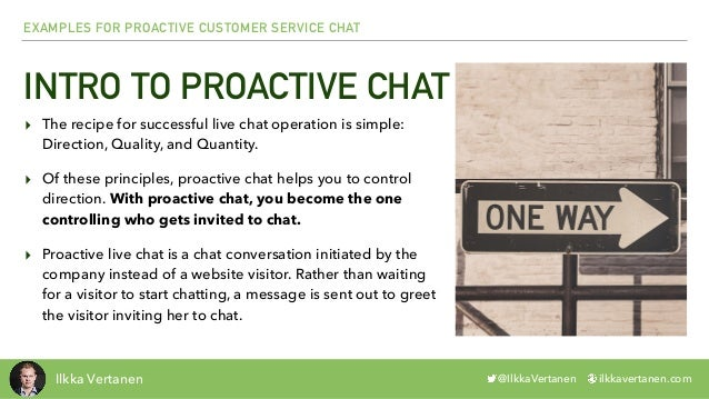 Proactive Chat Examples: Customer Service Chat Slide 3