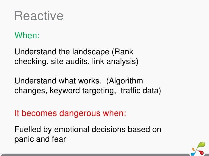 Proactive competitor analysis   a4uexpo 2011 - david sottimano Slide 3