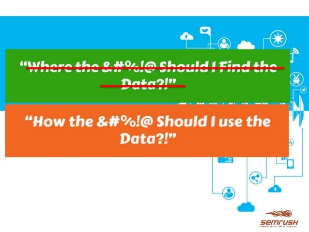 """BrightonSEO - Proactive Competitive Intelligence or """"Where the *^%&# Should I Find the Data?!"""" Slide 2"""
