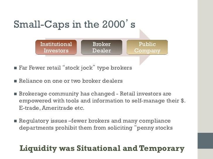Small-Caps in the 2000 s             Institutional      Broker            Public               Investors        Dealer    ...