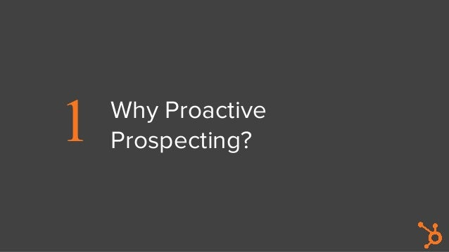 Proactive Prospecting for Agency Sales Professionals Slide 2