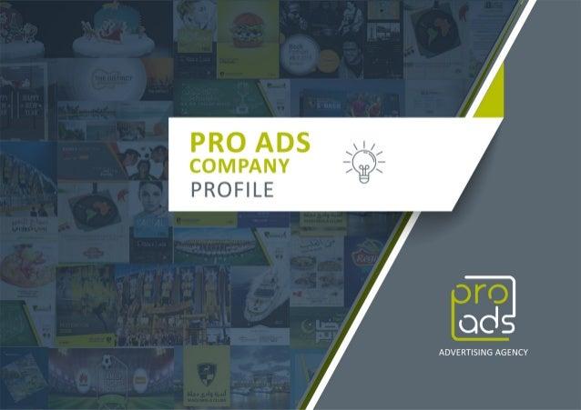 Pro Ads Advertising Agency Company Profile - Tel: 0227324270 - 01200002802 - 01272027003