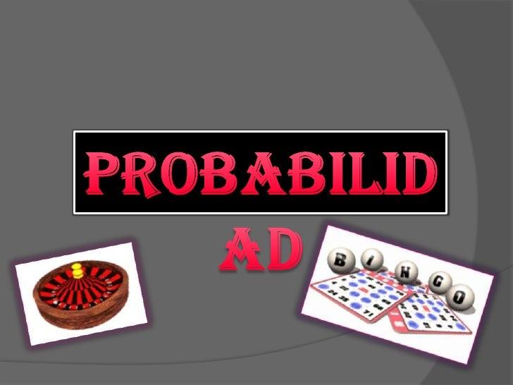 Probabilidad<br />