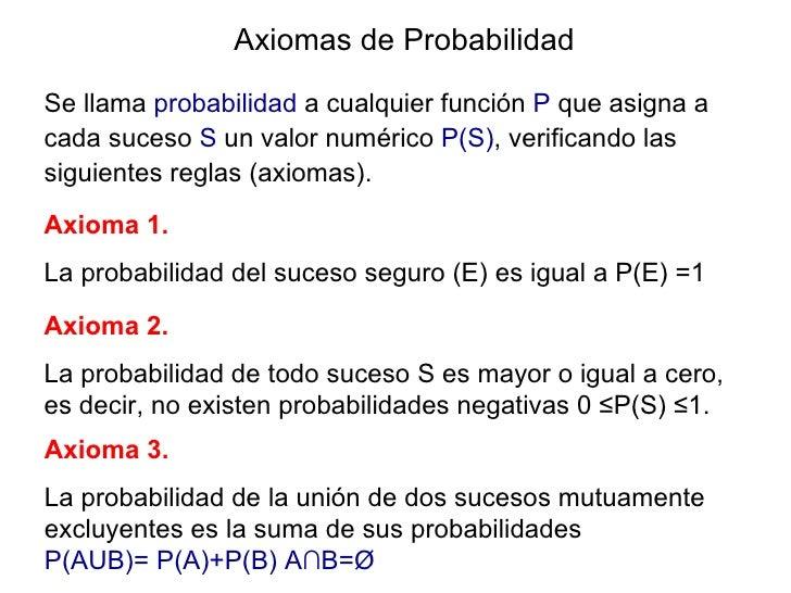 AXIOMAS DE PROBABILIDAD EJEMPLOS PDF DOWNLOAD