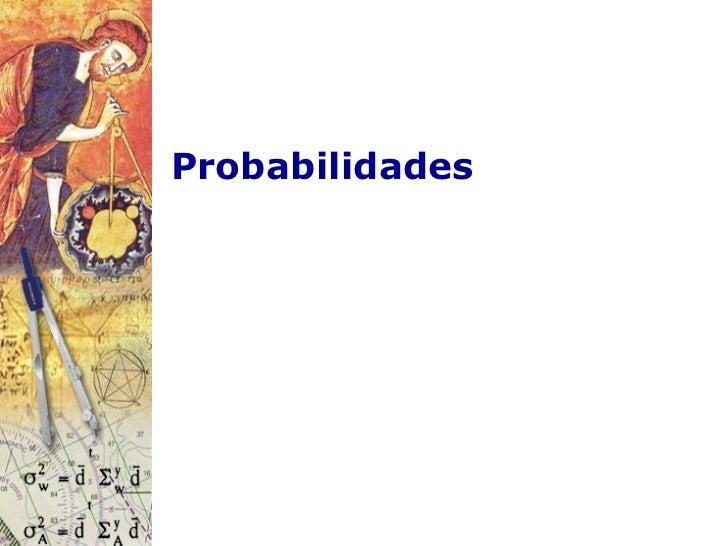 Probabilidades