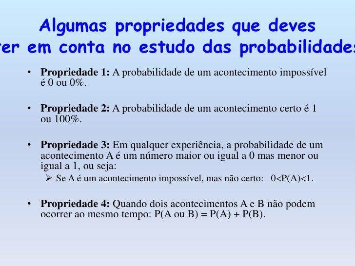 Lei dos Grandes Números• Para um grande número de experiências, a frequência relativa de um  acontecimento A é um valor ap...