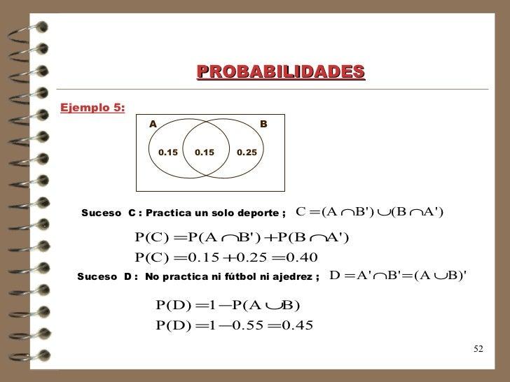 Probabilidades matematica