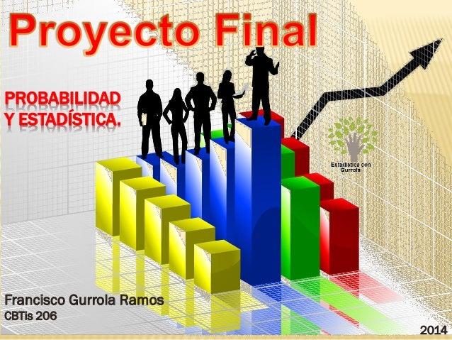 Probabilidad Y Estadistica 2014
