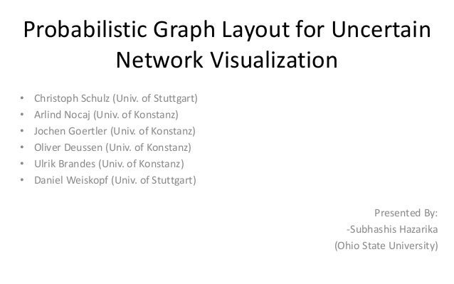 Probabilistic Graph Layout for Uncertain Network Visualization