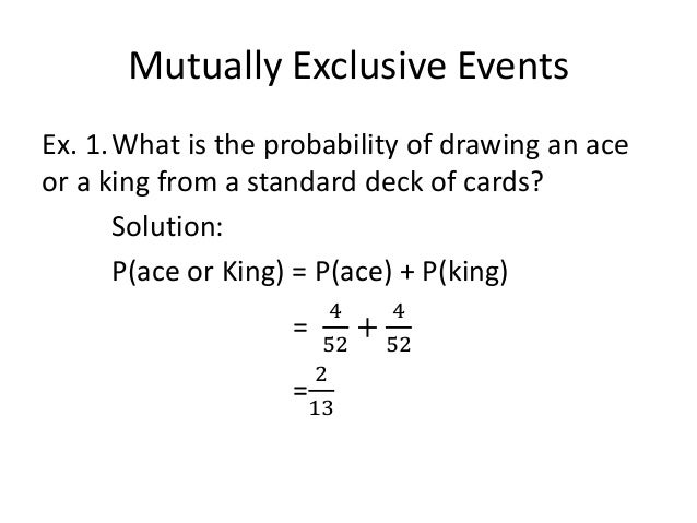 Introduction Of Probability