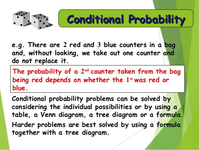 Probability 1 21 conditional probability ccuart Gallery