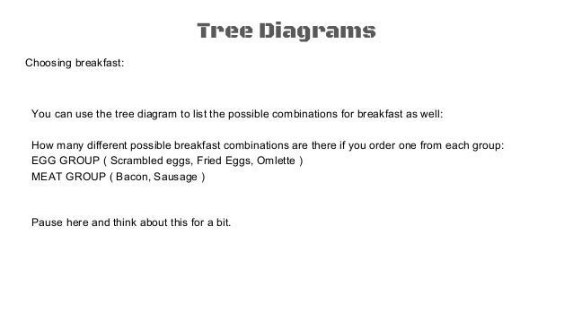 Probability 1 tree diagrams counting principle tree diagrams ccuart Gallery