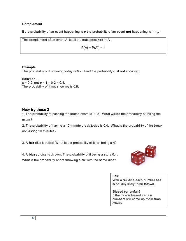 worksheet finding the probability of an event ii answers kidz activities. Black Bedroom Furniture Sets. Home Design Ideas