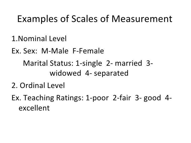 Nominal data definition statistics of sexual immorality