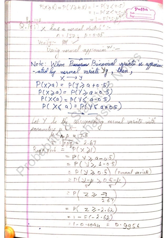 statistics note sheet Introduction to quantitative methods parina patel october 15,  2 descriptive statistics 3  note that if a variable has qualitative categories that are ordered.