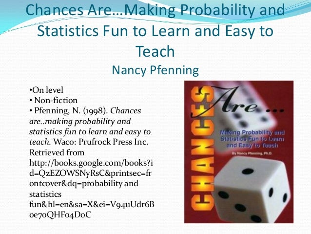 probability and statistics Download or subscribe to the free course by harvard university, statistics 110: probability.