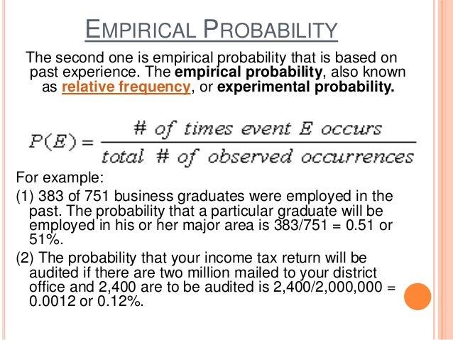 Essay application analysis probability majority decisions
