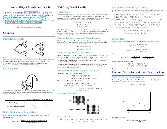 statistics cheat sheets Explore laurie steenkamp's board statistics on pinterest   see more ideas about statistics, mathematics and statistics cheat sheet.