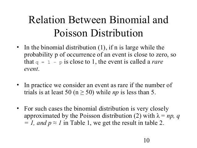 Probability distribution - Poisson distribution table ...