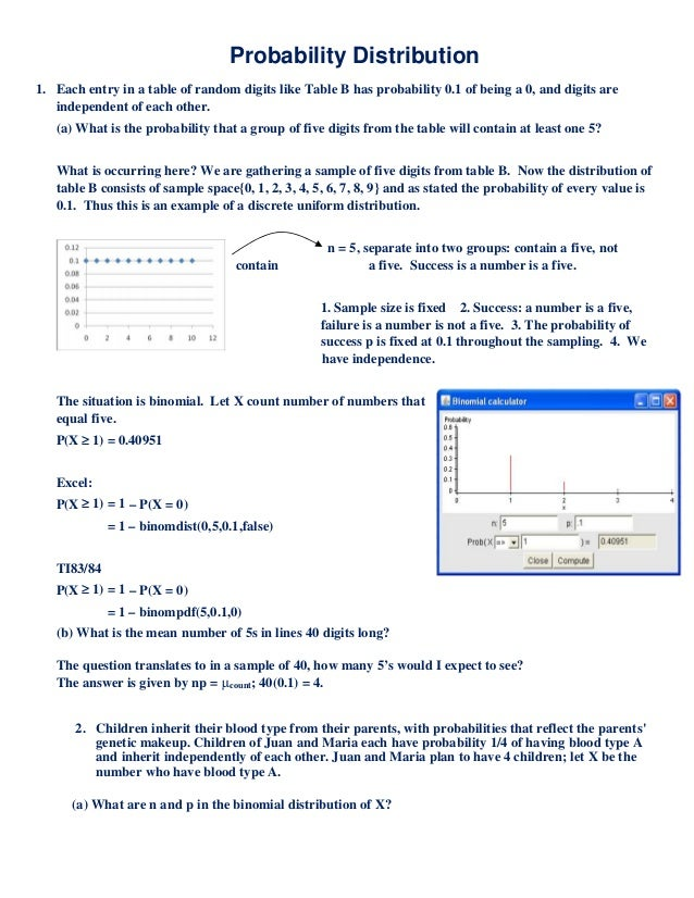 Homework Help With Binomial Distribution