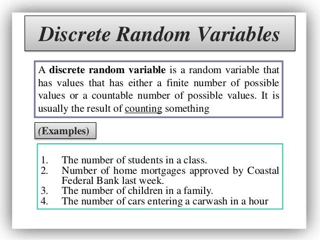 Probability Distributions Expected Values