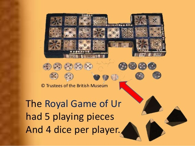 Probability in and Ancient Game Slide 3