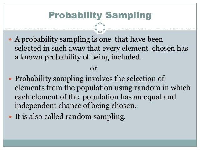 probability sampling - Akba.greenw.co