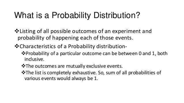 Binomial and Poission Probablity distribution Slide 2
