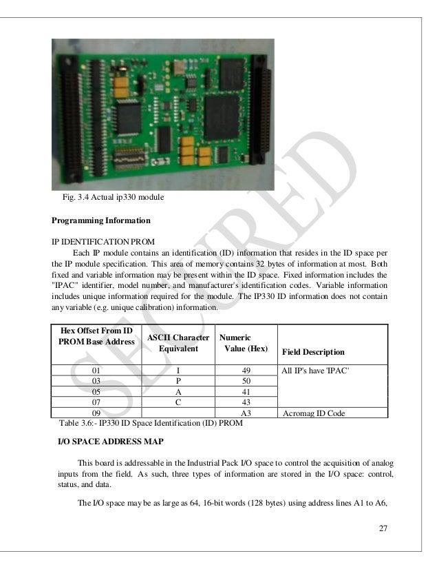 Embedded Programming In Rtos Vxworks For Profibus Vme