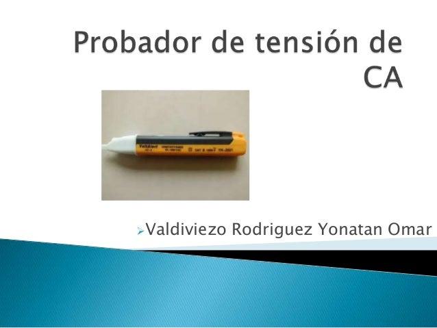 Valdiviezo Rodriguez Yonatan Omar