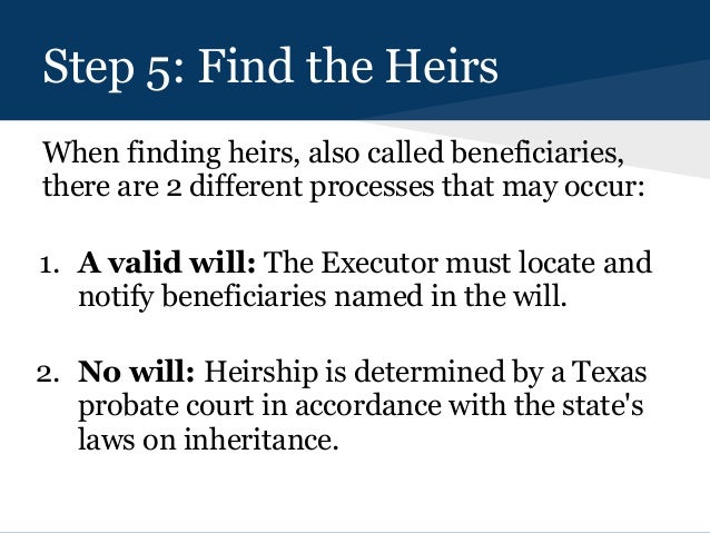 How To Get A Will Probated In Texas - The Texas Probate Process
