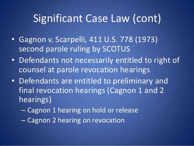 Gagnon v. Coombs - Change in Circumstances