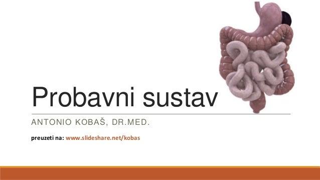 Probavni sustav ANTONIO KOBAŠ, DR.MED. preuzeti na: www.slideshare.net/kobas
