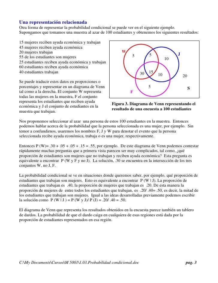 Prob condicional 2 3 una representacin relacionada otra forma de representar la probabilidad condicional ccuart Gallery