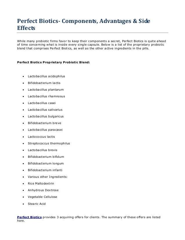 Perfect Biotics Probiotic America Help Your Kindney And