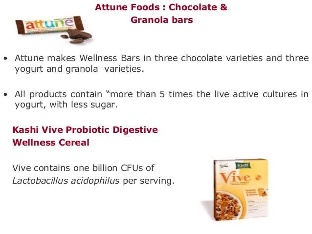 Attune Foods : Chocolate & Granola bars • Attune makes Wellness Bars in three chocolate varieties and three yogurt and gra...